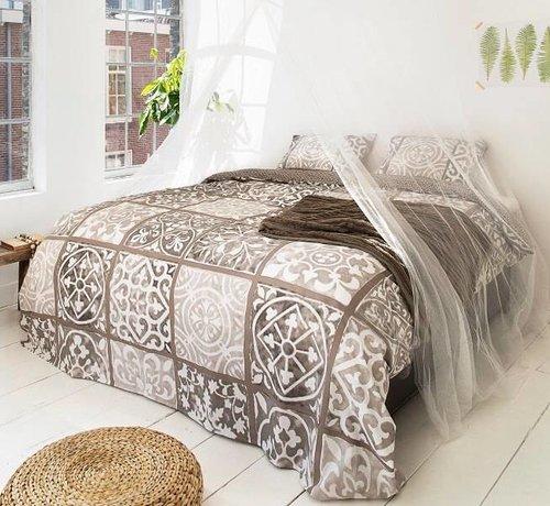 Dreamhouse Bedding Dekbedovertrek Alhambra Taupe