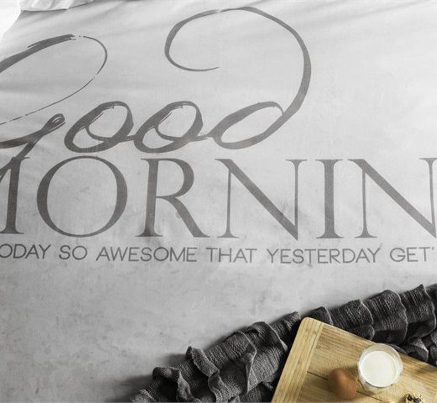 Dekbedovertrek Soft Morning Antraciet