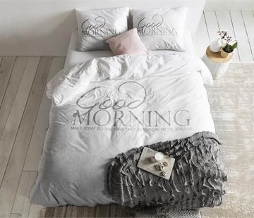 Dreamhouse Bedding Dekbedovertrek Soft Morning Antraciet