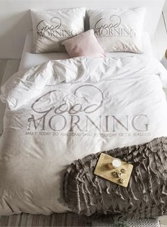 Dreamhouse Bedding Dekbedovertrek Soft Morning Taupe