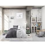 Sleeptime Pure Cotton Dekbedovertrek Jij & Ik Grijs