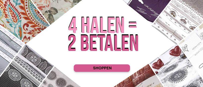 4 Halen = 2 Betalen