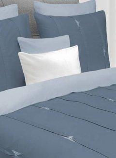 Heckett & Lane Dekbedovertrek Hopper Steel Blue