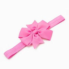 Haarbandje strik (roze)