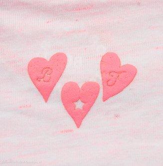 T-shirt (neon roze) | Born to be Famous babykleding