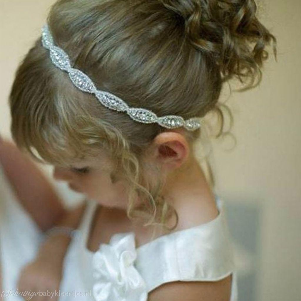 Haarbandje feestelijke strass