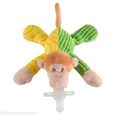 Speenknuffel aap (multi color)