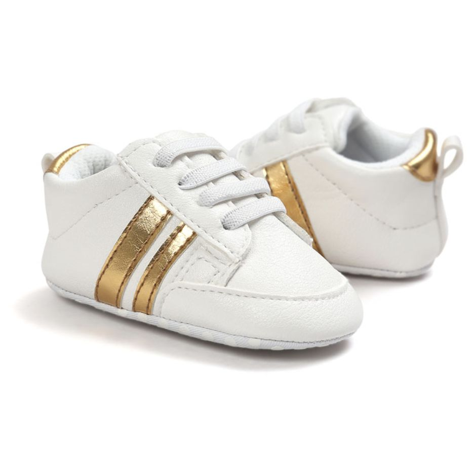Baby gympies (gouden strepen)