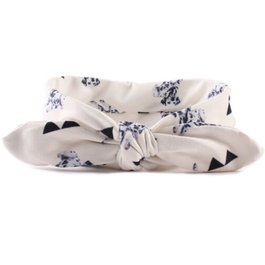 Haarbandje dalmatier (off-white)