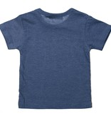 Dirkje T-shirt Bound To Win (blue melee) | Dirkje babykleding