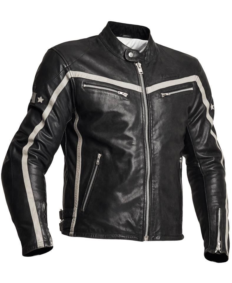 halvarssons 310 men old school leather motor jacket. Black Bedroom Furniture Sets. Home Design Ideas