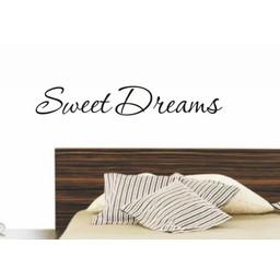 Sweet dreams. Muursticker / Interieursticker