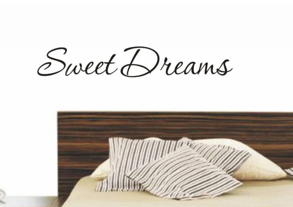 sweet dreams muursticker interieursticker qualitysticker