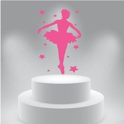 Ballerina muursticker