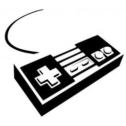Nintendo 8 bit controller sticker