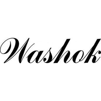 Deursticker Washok. Kies je eigen lettertype