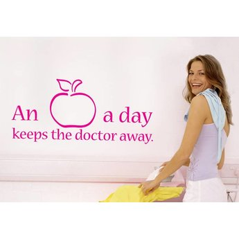 An apple a day, keeps the doctor away.