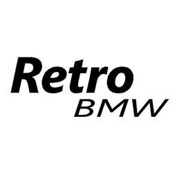 Retro BMW auto sticker