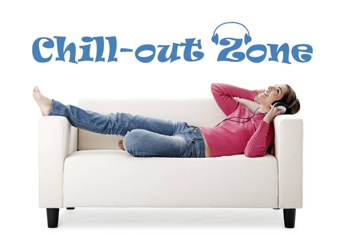 chill out zone qualitysticker. Black Bedroom Furniture Sets. Home Design Ideas