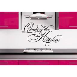 Queen of the Kitchen muursticker