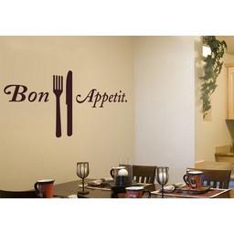 Bon Appetit muursticker