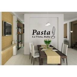 Pasta la Vista, baby muursticker
