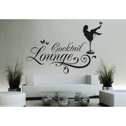 Cocktail Lounge muursticker
