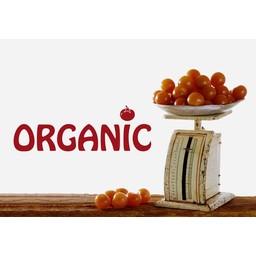 Organic muursticker