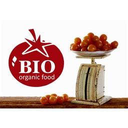Bio organic Food Tomaat muursticker