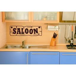 Saloon 2 muursticker