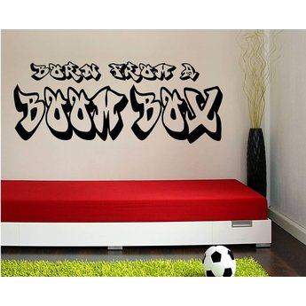 Born from a boombox grafitty