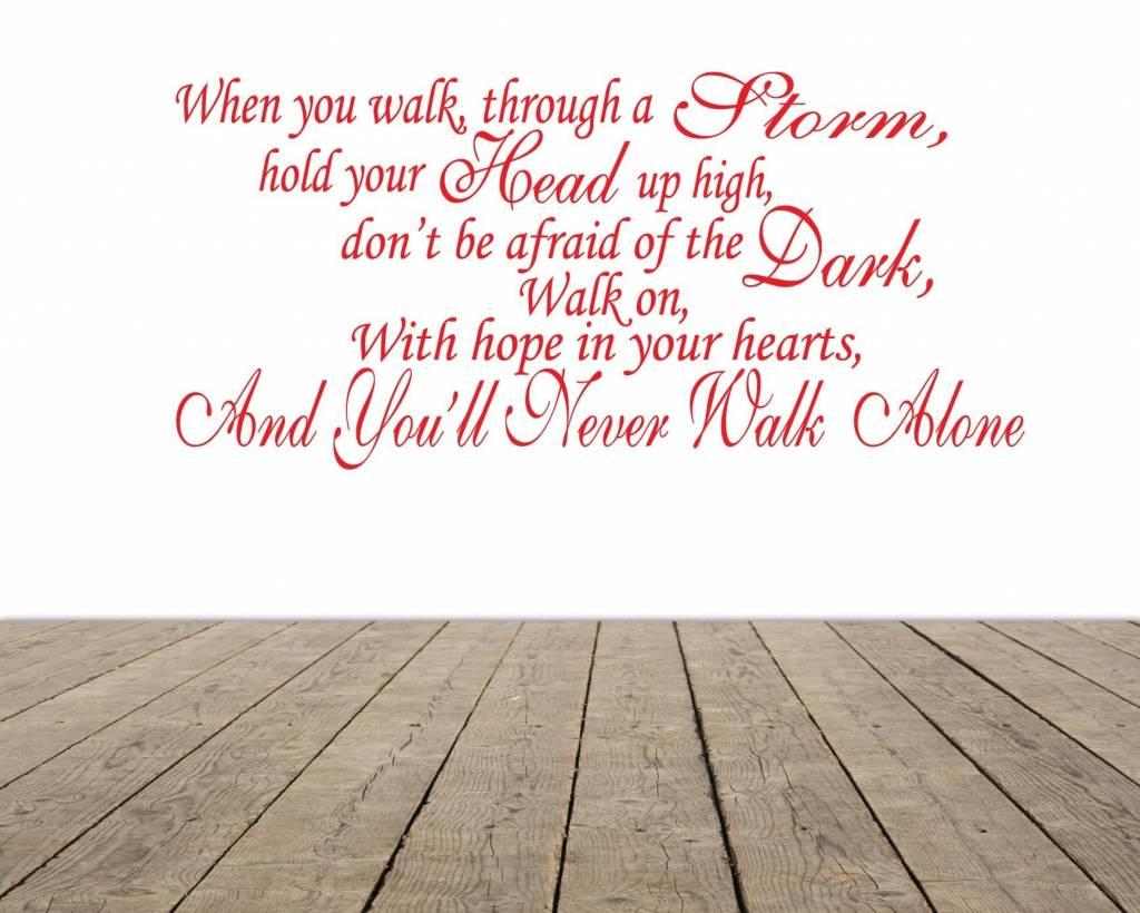 You never walk alone song tekst (Feyenoord) - QualitySticker