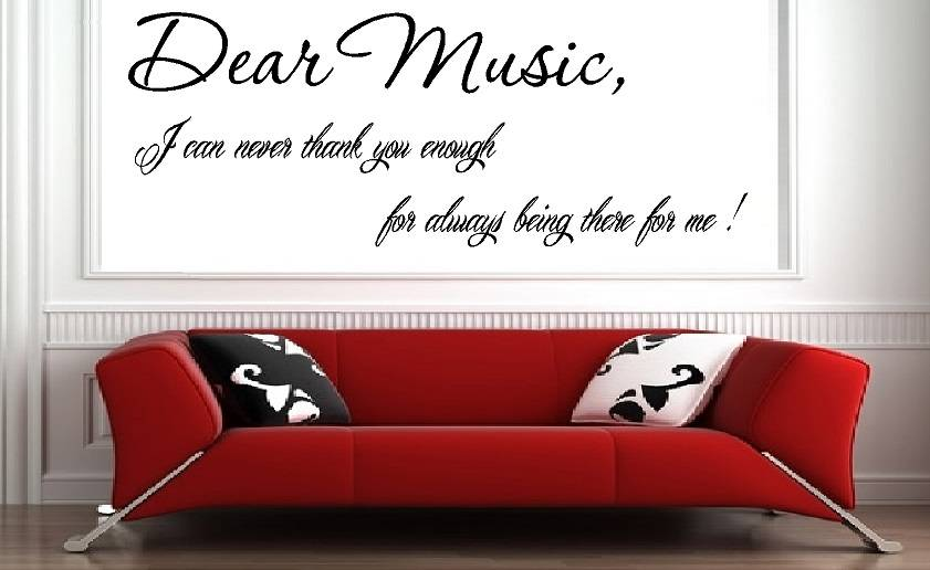 Dear music i can never thank you enough for always being there for dear music i can never thank you enough for always being there for me expocarfo Images