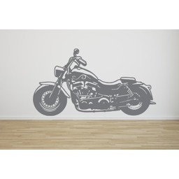 Chopper motor muursticker
