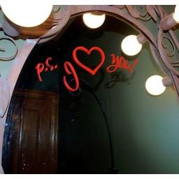 p.s. I love you mirror