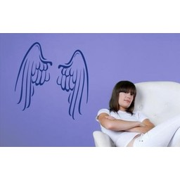 Angel wings muursticker