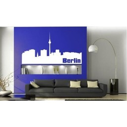 Skyline Berlin muursticker