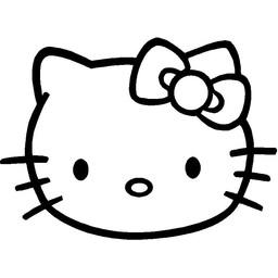 Hello Kitty hoofd