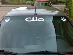 Chevrolet zonneband met eigen tekst 1