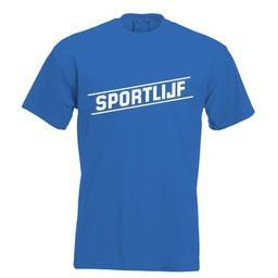 Sportlijf. Keuze uit T-shirt of Polo en div. kleuren. S t/m 8 XL.