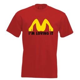 I'm loving it. Keuze uit T-shirt of Polo en div. kleuren. S t/m 8 XL