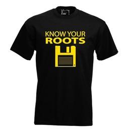 Know your roots. Keuze uit T-shirt of Polo en div. kleuren. S t/m 8 XL