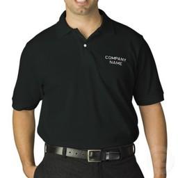 Heren Bedrijfs shirt met bedrijfsnaam . Keuze uit T-shirt of Polo en div. kleuren. S t/m 8 XL
