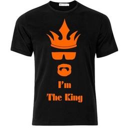 King Mr White. I'm the King. T-shirt of Polo en div. kleuren. S t/m 8 XL