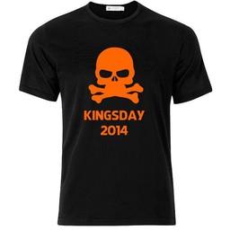 Kingsday 2014. T-shirt of Polo en div. kleuren. S t/m 8 XL