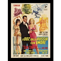 James Bond 007 Dalla Russia com amore movie poster