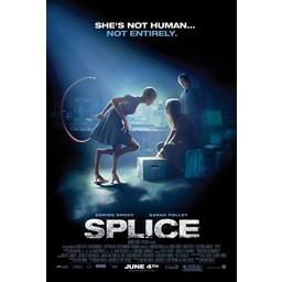 Splice movie poster