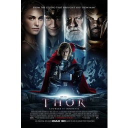 Thor Courage is Immortal movie poster
