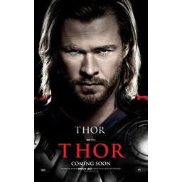 Thor comming soon movie poster