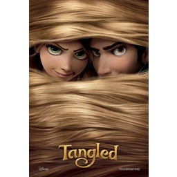 Tangled Disney movie poster